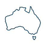 Australia Outline Icon