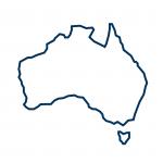 Australia Outline Icon
